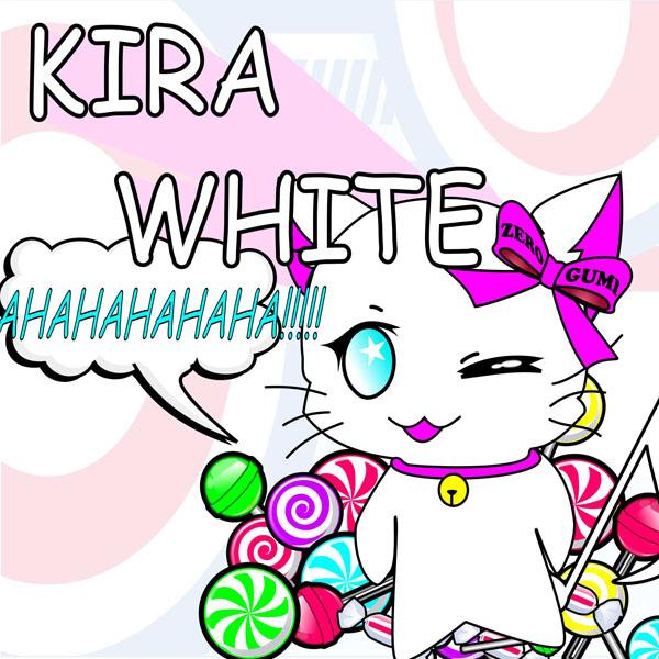 各CDショップ様KIRA-WHITE_CDジャケット