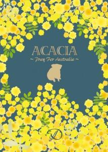 D「ACACIA〜Pray For Australia〜」ジャケ写